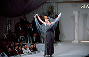 Moscow, Russia, 21/10/1996..Show at the Zeitsev House of Fashion, owned by leading Russian fashion designer Slava Zeitsev.