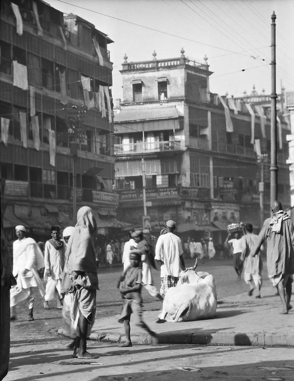 View of the Native Quarters, Calcutta, India, 1929