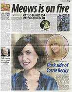 Katherine Kelly / This Morning / Daily Mirror 5-01-2012
