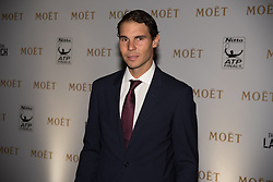 November 9, 2017 - London, England, United Kingdom - Rafael Nadal of Spain arrives during the The Official Launch for ATP Finals prior to the start of ATP World Tour Finals Tennis at O2 Arena, London on November 9, 2017. (Credit Image: © Alberto Pezzali/NurPhoto via ZUMA Press)