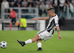 Paulo Dybala during Champions League Semi-finals match between Juventus v Monaco, in Turin, on may 9, 2017.(Photo by Loris Roselli/NurPhoto) *** Please Use Credit from Credit Field ***