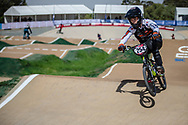 #254 (RACINE Romain) FRA at Round 1 of the 2020 UCI BMX Supercross World Cup in Shepparton, Australia