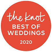 The Knot Best of weddings 2020 badge