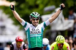 Jon ABERASTURI IZAGA of CAJA RURAL-SEGUROS RGA celebrates victory during 3rd Stage of 27th Tour of Slovenia 2021 cycling race between Brezice and Krsko (165,8 km), on June 11, 2021 in Slovenia. Photo by Matic Klansek Velej / Sportida