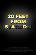 20 Feet from Stardom, Fall 2020, Digital, 18 x 24 in.<br /> <br /> 20 Feet from Stardom<br /> 2o Feet from Stardom is a documentary film highlighting the importance of background singers like Darlene Love and Merry Clayton and their profound impact on the music industry. Although many were close, most of these singers never quite made it to the spotlight. Through the use of metaphor, this poster is meant to convey that very idea. Even with talent arguably greater than those for whom they were singing backup, they never got to see their own name in lights.