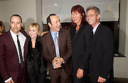 David Furnish, Lulu, Kevin Spacey, Janet Street-Porter and Stephen Daldry. After show opened at the the Old Vic party for Cloaca, One Aldwych, WC2. 28 September 2004. SUPPLIED FOR ONE-TIME USE ONLY-DO NOT ARCHIVE. © Copyright Photograph by Dafydd Jones 66 Stockwell Park Rd. London SW9 0DA Tel 020 7733 0108 www.dafjones.com