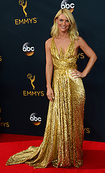 September 18, 2016 - Los Angeles, California, United States - Claire Danes arrives at the 68th Annual Emmy Awards at the Microsoft Theater in Los Angeles, California on Sunday, September 18, 2016. (Credit Image: © Michael Owen Baker/Los Angeles Daily News via ZUMA Wire)