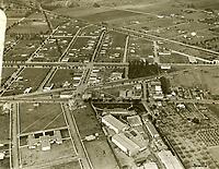 1921 Aerial of Thomas Ince's second studio in Culver City, CA
