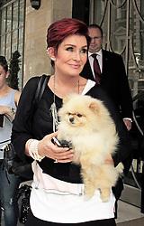 © Licensed to London News Pictures. 04/07/2014, UK. Sharon Osbourne, Claridges Hotel, London UK, 04 July 2014. Photo credit : Mike Webster/Piqtured/LNP
