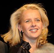 Uitreiking van de Prins Claus Prijs in muziekgebouw aan het IJ //  Presentation of the Prince Claus Award in the Amsterdam Music Hall.<br /> <br /> On the photo: Princess Mabel
