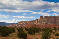 Dramatic view of Abiquiu, New Mexico