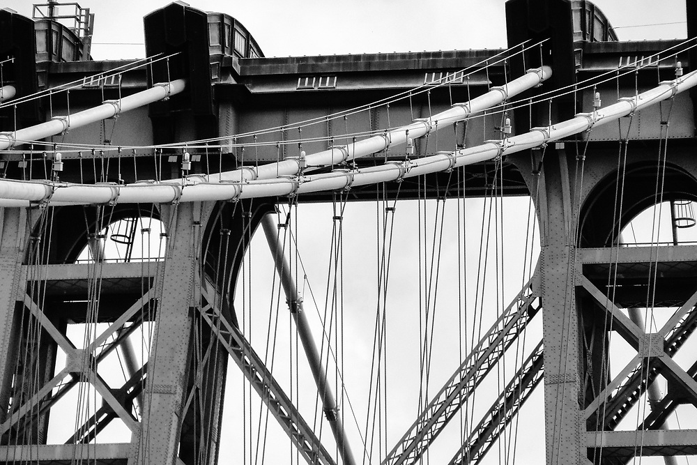 Top of the gwb Fort Lee, NJ 2009