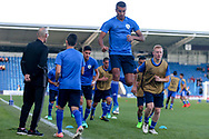 Israel warming up during the UEFA European Under 17 Championship 2018 match between England and Israel at Proact Stadium, Whittington Moor, United Kingdom on 4 May 2018. Picture by Mick Haynes.