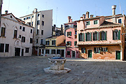Italy, Venice, A water well
