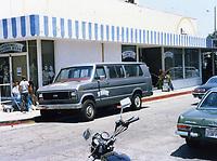 1987 Hollywood Fantasy Tours' touring van