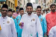 Islamic procession. Kuala Lumpur, Malaysia. December/2017.