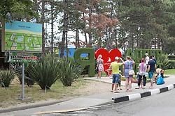 June 16, 2018 - Sochi, Rússia - SOCHI, SC - 16.06.2018: GENERAL PHOTOS SOCHI 2018 - Resort entrance in Sochi in Russia. (Credit Image: © Ricardo Moreira/Fotoarena via ZUMA Press)
