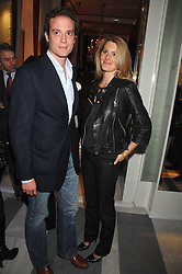 LADY KINVARA BALFOUR and RICCARDA LANZA at a preview of Garrard's new collections and celebrates a Kaleidoscope of Colour at Garrard, 24 Albemarle Street, London on 10th May 2007.<br /><br />NON EXCLUSIVE - WORLD RIGHTS