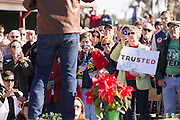 U.S. Senator and GOP presidential candidate Ted Cruz addresses supporters during a campaign event at Ottawa Farms December 19, 2015 in Bloomingdale, Georgia.