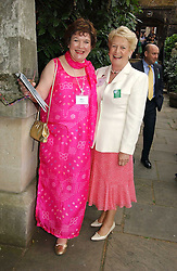 Left to right, MRS KEITH SIMPSON and LADY GRIFFITHS at the annual Macmillan Cancer Support House of Lords vs the House of Commons Tug of War held in Victoria Tower Gardens on 20th June 2006.<br /><br />NON EXCLUSIVE - WORLD RIGHTS