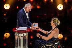 21-12-2016 NED: Sportgala NOC * NSF 2016, Amsterdam<br /> In de Amsterdamse RAI vindt het traditionele NOC NSF Sportgala weer plaats / Joop Zoetemelk en de Fanny Blankers-Koen carriere prijs voor Esther Vergeer (rolstoeltennis)