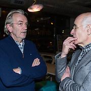 NLD/Amsterdam/20140227 - Boekpresentatie Jeroen van Inkel - Kort Sluiting , Lex Harding en Frits Spits