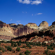 The Waterpocket Fold in Canyonlands National Park