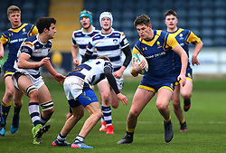 Rob Lester (Warriors AASE/Worcester Sixth Form College) of Worcester Warriors Under 18s - Mandatory by-line: Robbie Stephenson/JMP - 14/01/2018 - RUGBY - Sixways Stadium - Worcester, England - Worcester Warriors Under 18s v Yorkshire Carnegie Under 18s - Premiership Rugby U18 Academy