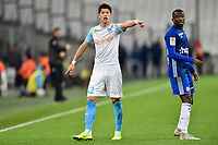 Hiroki Sakai of Marseille during the French League Cup match between Marseille and Strasbourg at Stade Velodrome on December 19, 2018 in Marseille, France. (Photo by Alexandre Dimou/Icon Sport)