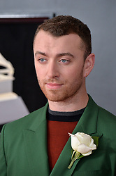Sam Smith attends the 60th Annual GRAMMY Awards at Madison Square Garden on January 28, 2018 in New York City, NY, USA. Photo by Lionel Hahn/ABACAPRESS.COM