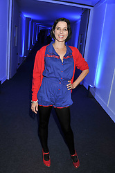 SADIE FROST at a party hosted by Rimmel London to celebrate the 10 year partnership with Kate Moss held at Battersea Power Station, London SW8 on 15th September 2011.
