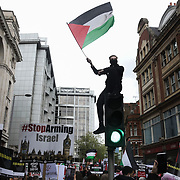 Stop the bloodshed in Gaza protest in London 15.05.21