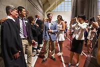 St Paul's School Graduation Day.  ©2016 Karen Bobotas Photographer