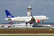 SE-DOX SAS - Scandinavian Airlines, Airbus A320NEO at at Malpensa (MXP / LIMC), Milan, Italy