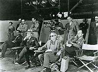 1930 Filming Whoopie at Samuel Goldwyn Studios