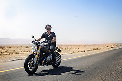 File photo dated August 2016 shown Jordan's Crown Prince Hussein Bin Abdullah (son of King Abdullah II and Queen Rania), on a motorbike trip, somewhere in Jordan. He just graduated from Royal Military Academy Sandhurst (RMAS), known as Sandhurst, on August 11, 2017, in Camberley, south west of London, United Kingdom. Photo by Balkis Press/ABACAPRESS.COM