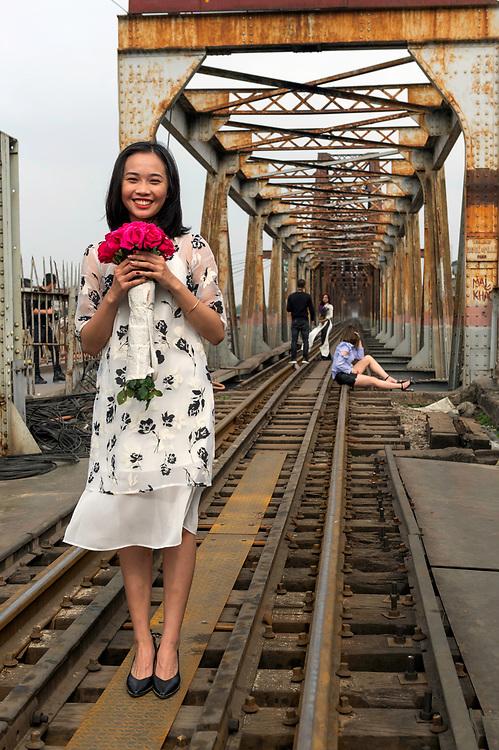 Fashion shoot, old quarter, Hanoi