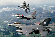 F-16As, Europe