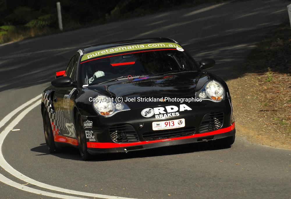 Matt Close & Cameron Reeves .2000 Porsche 911 Turbo .Day 2.Targa Tasmania 2009.30th of April 2009.(C) Joel Strickland Photographics.