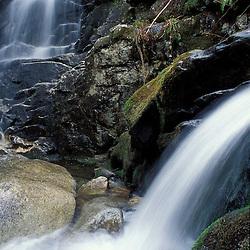 Coosauk Falls.  Bumpus Brook.  White Mountain N.F.  Waterfall.  Randolph, NH
