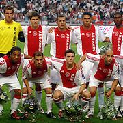 NLD/Amsterdam/20060823 - Ajax - FC Kopenhagen, teamfoto, groepsfoto