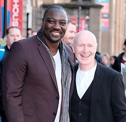 Edinburgh International Film Festival 2019<br /> <br /> Farming (UK Premiere)<br /> <br /> Pictured: Adewale Akinnuoye-Agbaje (Director) and Paul Laverty<br /> <br /> Alex Todd   Edinburgh Elite media