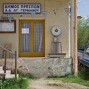 The former village hall of Aghios Germanos, Greece