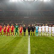 Galatasaray's and Balikesirspor's during their Turkey Cup matchday 4 soccer match Galatasaray between Balikesirspor at the AliSamiYen Spor Kompleksi TT Arena in Istanbul Turkey on Tuesday 27 November 2012. Photo by TURKPIX