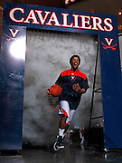 CHARLOTTESVILLE, VA- NOVEMBER 13:  Jontel Evans #1 of the Virginia Cavaliers enters the court before the game on November 13, 2011 at the John Paul Jones Arena in Charlottesville, Virginia. Virginia defeated South Carolina State 75-38. (Photo by Andrew Shurtleff/Getty Images) *** Local Caption *** Jontel Evans