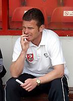 Photo: Dave Linney.<br />Walsall v Barnsley. Coca Cola League 1. 06/05/2006.<br />Walsall Caretaker Mgr Mark Kinsella