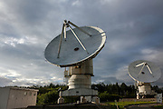 Nobeyama Radio Observatory (NRO) near Minamimaki, Nagano, Japan Tuesday August 16th 2016. The NRO is a project run by the National Astronomical Observatory of Japan (NAOJ), and the institute of the National Institute of Natural Sciences (NINS). The site, operates powerful, advanced radio telescopes, including a 45-m Radio Telescope (one of the world's largest),The Nobeyama Radio Polarimeter, and the 6 antenna Nobeyama millimetre array.