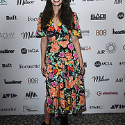 Alice Gustafson of Headliner magazine attend The Music Producers Guild Awards at Grosvenor House, Park Lane, on 27th February 2020, London, UK.