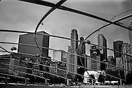 12/16/06 Chicago, IL Downtown Chicago Millennium Park..(Chris Machian/ Prairie Pixel Group)..