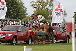 "Donckers Karin (BEL) - Gazelle de Brasserie<br /> ""The Mitsubishi Motors Badminton Horse Trials""<br /> CCI**** Badminton 2009<br /> © Dirk Caremans"